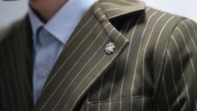 Photo of Көкшетаулық жас кәсіпкер ер азаматтарға арналған отандық костюм үлгілерін тіге бастады