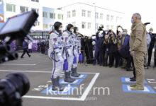 Photo of Байқоңырдан ресей-америка экипажымен ғарыш кемесі ұшырылды