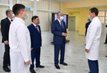 Photo of Президент Көкшетаудағы онкологиялық аурулар ауруханасының жұмысымен танысты