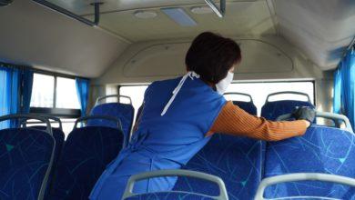 Photo of В автобусах города Кокшетау проводят дезинфекционную обработку