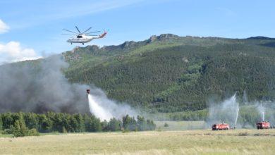 Photo of На помощь Акмолинским спасателям прилетел самый большой в мире вертолет