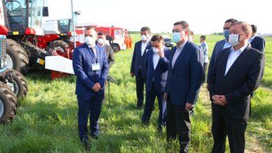 Photo of Аскар Мамин проинспектировал ход посевной кампании в Акмолинской области