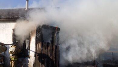 Photo of В городе Щучинск в пожаре сгорели супруги