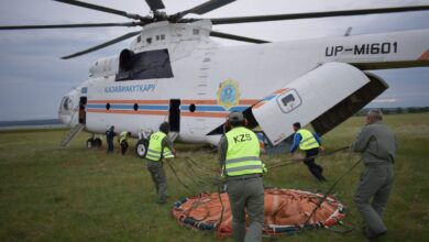 Photo of В Акмолинскую области прибыла вторая смена пилотов «Kazaviaspas»