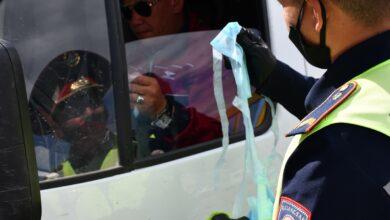 Photo of Более 100 защитных масок раздали акмолинские полицейские жителям Кокшетау.