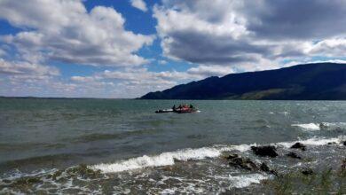 Photo of Акмолинские спасатели спасли двоих детей на озере Малое Чебачье
