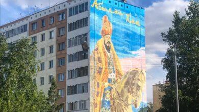 Photo of История на фасадах домов: Стрит-арт радует жителей Кокшетау