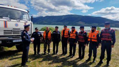 Photo of В Акмолинской области на озере Малое Чебачье открыт мобильный спасательный пост