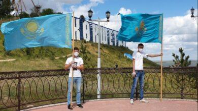 Photo of Как в Кокшетау празднуют День государственных символов РК