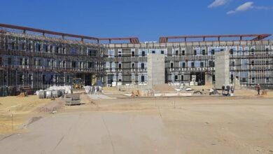 Photo of Болашақ сарайы: Завершены работы по устройству каркаса здания (ФОТО)