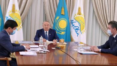 Photo of О чем говорил Назарбаев на заседании партии Nur Otan