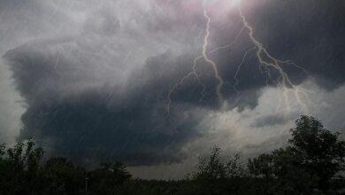 Photo of Гроза ожидается в Акмолинской области 10 августа.
