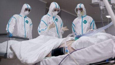 Photo of Врачи спасли 84-летнего аксакала со 100% поражением легких в Алматы