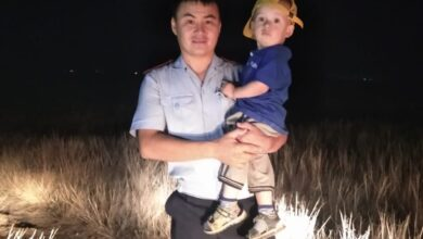 Photo of Потерявшегося в Атбасаре малыша нашли полицейские