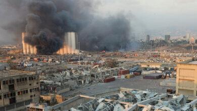 Photo of Мощный взрыв прогремел в столице Ливана