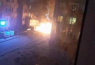 Photo of В селе Косшы сгорел автомобиль