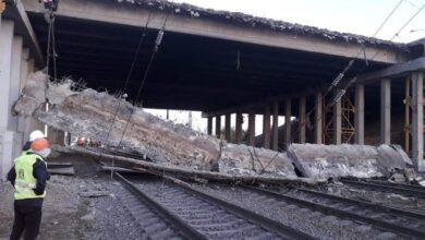 Photo of «Горбатый» мост обрушился в Нур-Султане