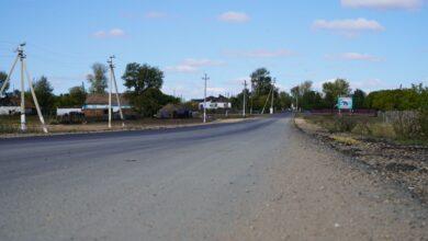 Photo of Дороги ремонтируют в селе Приречное Зерендинского района