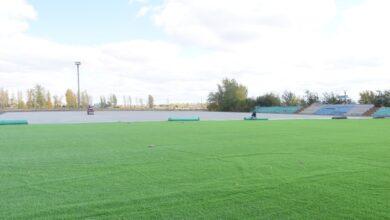 Photo of В Шортанды ремонтируют стадион