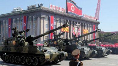 Photo of В Северной Корее прошёл военный парад. На нём показали новую баллистическую ракету