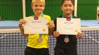 Photo of 10-летний теннисист из Кокшетау завоевал «бронзу» на чемпионате в Караганде