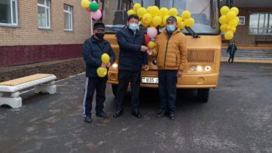 Photo of В школах Целиноградского района появились новые автобусы