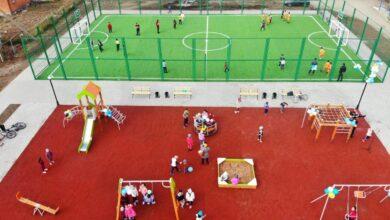 Photo of Спортивную и детскую игровую площадки открыли в Шортанды