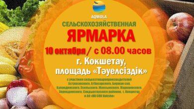 Photo of Сельхозярмарка пройдет в Кокшетау в субботу