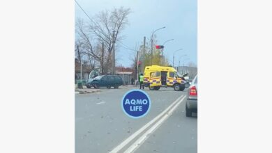 Photo of Мигалки не спасли от ДТП: в Кокшетау «Passat» врезался скорую
