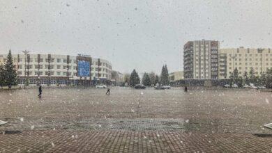 Photo of Первый снег выпал в Кокшетау