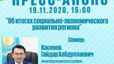 Photo of Аким Шортандинского района выступит на брифинге в РСК
