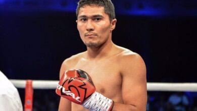 Photo of Непобежденный казахстанский боксер с титулом WBC сразится против россиянина