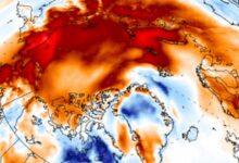 Photo of Арктика продолжает рекордно нагреваться