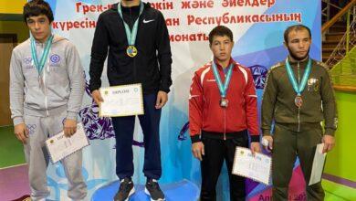 Photo of Акмолинский борец стал чемпионом Казахстана