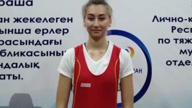 Photo of Акмолинская тяжелоатлетка завоевала «бронзу» чемпионата Казахстана