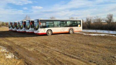 Photo of В Красный Яр и Нурлы Кош запущены новые пассажирские автобусы