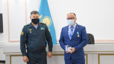 Photo of Медалями наградили военнообязанных в Шортанды