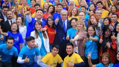 Photo of Токаев поблагодарил казахстанских волонтеров за работу
