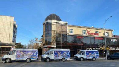 Photo of Ресторан SAMRUK развозит продукты нуждающимся