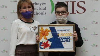 Photo of Ученик НИШ в Кокшетау создал машину, которая проводит дезинфекцию рук