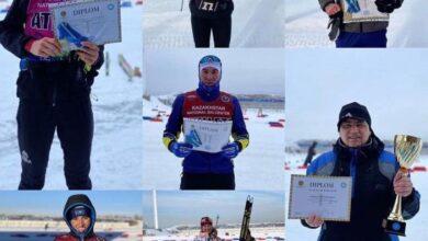 Photo of Акмолинские лыжники выиграли чемпионат Казахстана