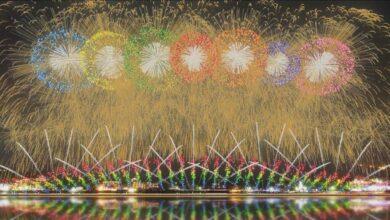 Photo of Фейерверки для открытия Олимпиады запустили в Японии