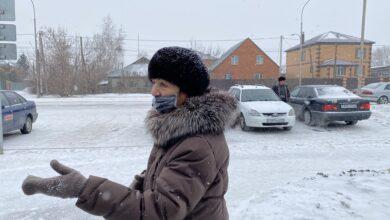 """Photo of """"Мир над головой и достойная пенсия"""": голосуют пенсионеры Кокшетау"""