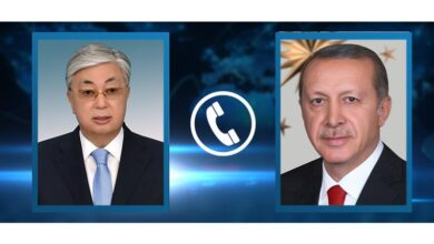 Photo of Состоялся телефонный разговор Касым-Жомарта Токаева с Президентом Турции