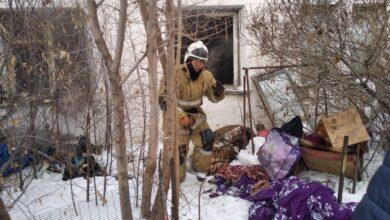 Photo of Жительница села Акмол погибла в пожаре (ВИДЕО)