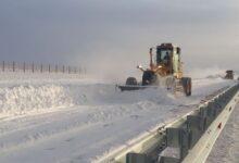 Photo of Борьба со снегом продолжается в Акмолинской области