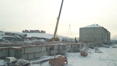 Photo of «Нұрлы Жер»: 21-квартирный дом строят в районе Биржан сал