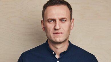 Photo of Алексея Навального посадили