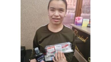 Photo of «Ребенок плакал от счастья»: слепой девочке бесплатно установили брекеты в Кокшетау