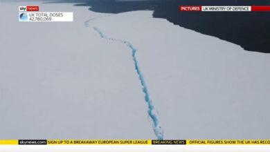 Photo of Растаял самый большой в мире айсберг